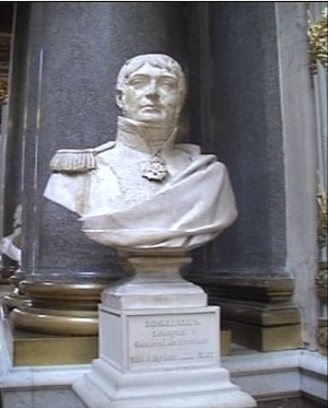 Jacques Desjardin - Jacques Desjardin bust sculpted by Antoine Laurent Dantan in the Galerie des Batailles at the Palace of Versailles