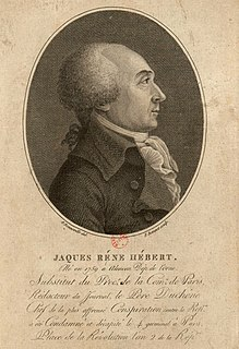 Jacques Hébert French journalist and politician