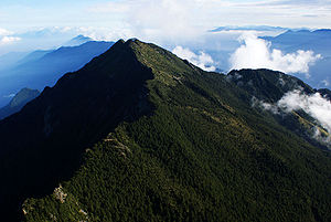 100 Peaks of Taiwan - Image: Jade Mountain Northern Peak