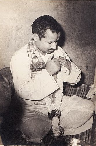 Rambhadracharya - A young Giridhar Mishra in an undated photo