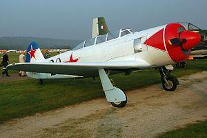 Yakovlev Yak-11 - Yak 11 F-AZFJ