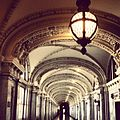 James R. Browning Courthouse Hallway and Light.JPG