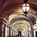 James R. Browning Courthouse Hallway and Light.JPG