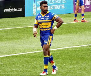 James Segeyaro - Segeyaro playing for Leeds in 2016