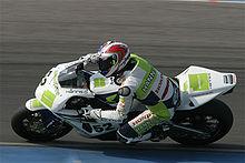 Toseland nel 2007 alla guida della Honda CBR 1000RR, con cui conquisterà il suo secondo titolo SBK