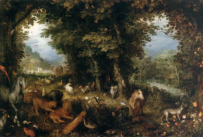 File:Jan Brueghel (I) - Earth (The Earthly Paradise) - WGA3552.jpg