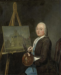 Portrait of Jan ten Compe, Painter and Art Dealer in Amsterdam