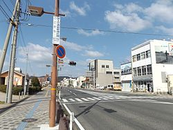Crossing in Tamano City