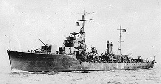 Mikura-class escort ship - Image: Japanese escort ship Nomi 1944