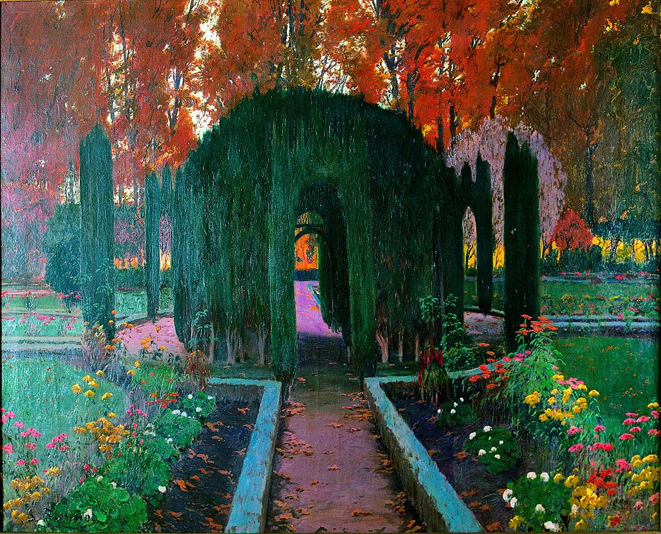 Картинки по запросу jardin de aranjuez santiago rusiñol
