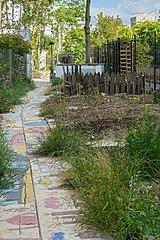 barriere de jardin bois