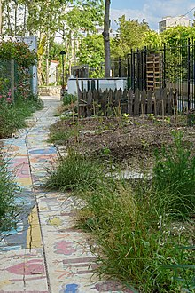 Jardin communautaire wikip dia for Tige de bois pour decoration