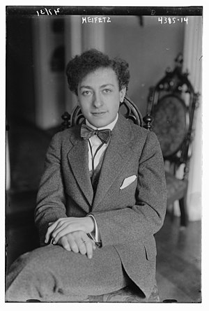 Jascha Heifetz - In 1917
