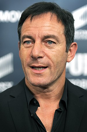 Jason Isaacs - Isaacs at the premiere of Fury at the Newseum in Washington, D.C., October 2014