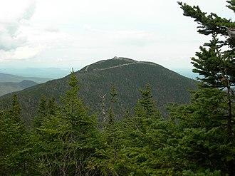 Jay Peak (Vermont) - Jay Peak seen from Big Jay