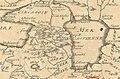 Jean-Baptiste Nolin. Carte du Capchac, partie du royaume de Gete, de la Transoxiane, de la Moscovie Géorgie. (17th century). A.jpg