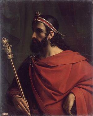 Jean-Joseph Dassy - Image: Jean Joseph Dassy (1796 1865) Caribert, roi franc de Paris et de l'ouest de Gaule (mort en 567)