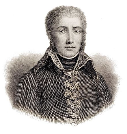 Jean Victor Moreau commanded the French Army of the Rhine. Jean-Victor Moreau.jpg