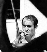 Jean Tinguely en 1963 (photo Erling Mandelmann)