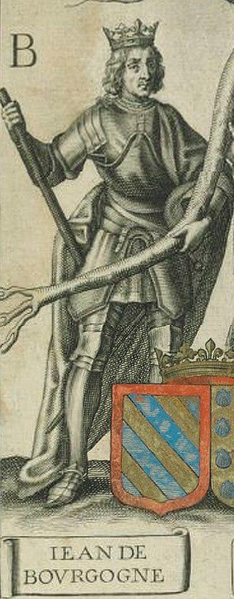 John of Burgundy (1231–68) - Image: Jean de Bourgogne