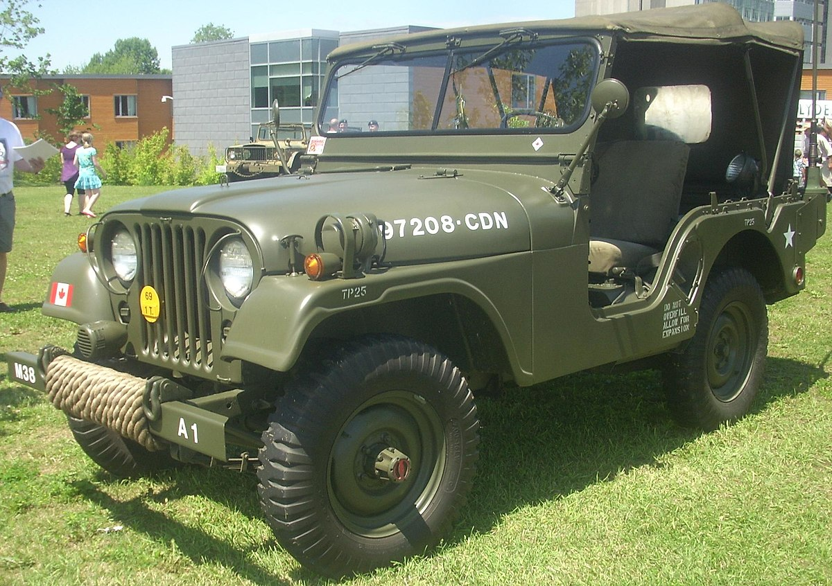 Jeeps For Sale In Md >> Willys M38A1 - Wikipedia