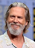 Photo of Jeff Bridges at the San Diego Comic-Con International in 2017.