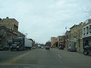 Jefferson, Wisconsin - Downtown Jefferson
