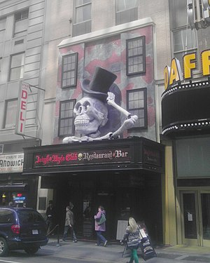 Theme restaurant - The facade of the Jekyll & Hyde Club at its Times Square location