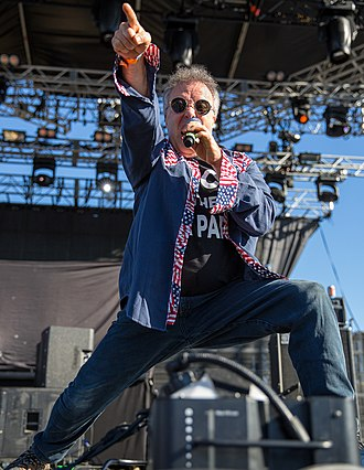 Jello Biafra - Biafra performing at the 2014 Fun Fun Fun Fest