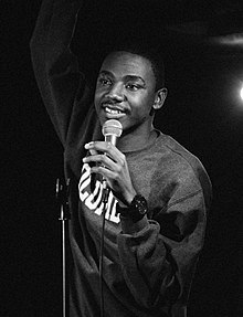 Jerrod Carmichael at the Del Monte Speakeasy (cropped).jpg