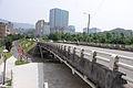 Jiangbei 2nd Bridge South Slope View from Keelung River South Riverside Bikeway 20150430.jpg