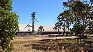 Grain storage structures in Western Australia