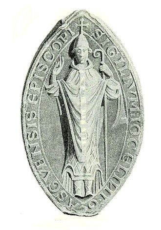 History of Glasgow - The seal or signet of Jocelin, Bishop of Glasgow, founder of the burgh of Glasgow.