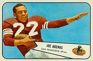 Joe Arenas American football player