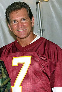 Joe Theismann American football quarterback