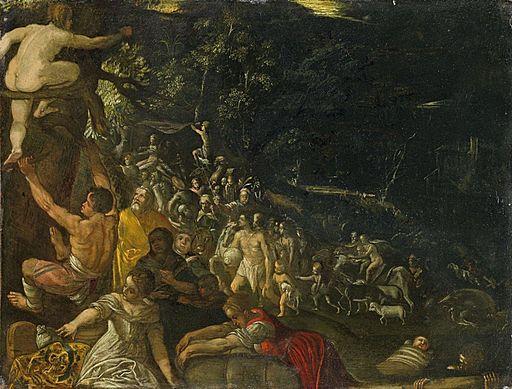 Johann König (zugeschr.) - Die Sintflut