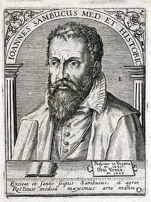 János Zsámboky - Image: Johannes Sambucus