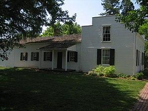 John Deere House and Shop - The 1836 John Deere House.
