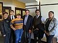 John Garamendi with UC Davis students - 2020.jpg