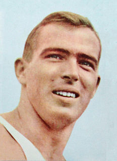 John Pennel American pole vaulter