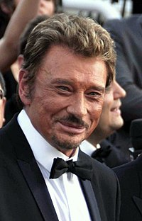 Johnny Hallyday à Cannes en 2009.