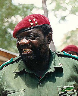 Angolan political and military leader