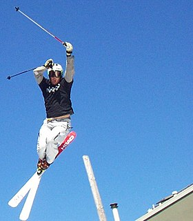 Jonny Moseley freestyle skier