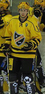 Joonas Riekkinen Finnish ice hockey player
