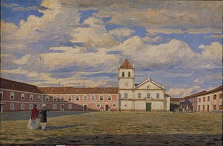 Pateo do Colégio, 1858