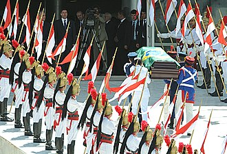 State funeral - State funeral of José Alencar, former Vice President of Brazil, at the Planalto Palace, Brasília.