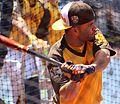 Jose Altuve takes batting practice on Gatorade All-Star Workout Day. (28044767234).jpg