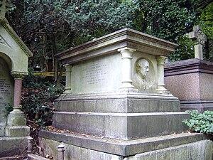 Joseph Hodgson - Hodgson's tomb, Highgate Cemetery