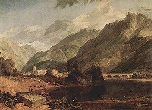 Bonneville, Haute-Savoie - Bonneville, Haute-Savoie by J. M. W. Turner