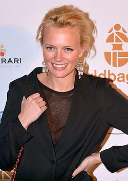 Josephine Bornebusch på Guldbaggegalan 2013.